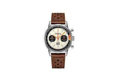 Breitling Top Time Deus Limited Edition Squircle-Shaped Chronograph Counters Lightning-Bolt-Shaped Chronograph Hand Watch
