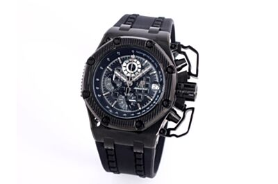 AP Survivor Limited Edition  26165IO.OO.A002CA.01Black Embossed Bezel Counters Black Dial Stainless Steel Case Watch