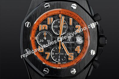Audemars Piguet Offshore Chronograph 26200SN.OO.D101CR.01 Lava Hourglass Limited Leather Strap Swiss Watch AP013