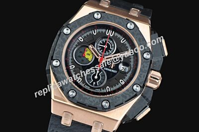 Audemars Piguet Offshore Chronograph Limited Swiss Ref 26290RO.OO.A001VE.01 Red Hands Males Watch AP034