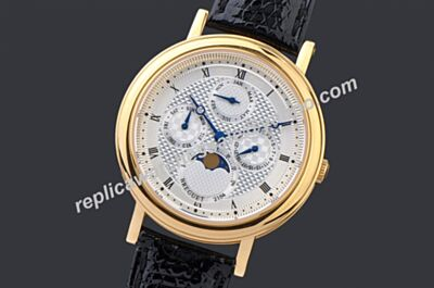 Breguet Classique Complications Moonphase Day DatePrpetual Calendar 3050 Watch