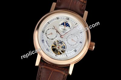 Cheap Rep Breguet Classique Complications Tourbillon Moonphase Prpetual Calendar Watch