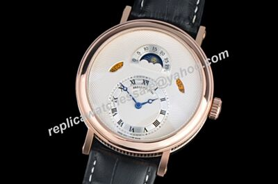 Breguet Classique Complications Rose Gold Ref 5317BR129V6 Moonphase men's Day Date Timepiece