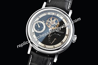 Breguet Ref 3577BB/15/9V6 Tourbillon Classique Complications White Gold Fake Watch
