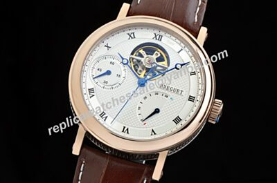 Breguet Classique Complications Rose Gold Mens 38mm Tourbillon Auto Watch