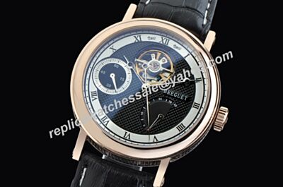 Breguet Classique Complications Tourbillon Ref 3657PT/12/9V6 Power Reserve Seconds Repeat Watch Replica