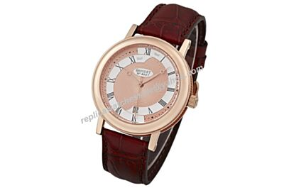 2017 New Swiss Breguet Classique Two Tone Face  Automatic Mens Date Watch BG061
