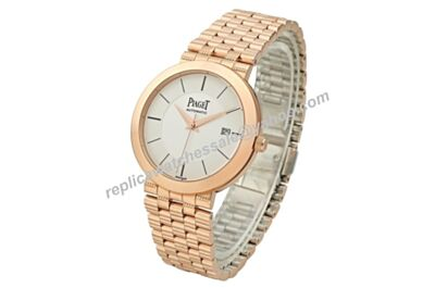 Swiss Movement Piaget G0A39535 Dancer&Traditional Men All Rose Gold Date Fake Watch BJ078