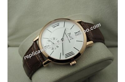 Swiss Piaget Altiplano Ref G0A37138 Champagne Gold 43mm Auto Watch Replica BJ123