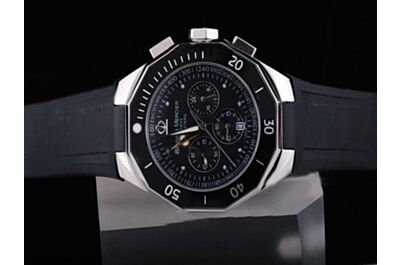Baume&Mercier Chronograph Date Ref MOA08723 Black Quartz Watch Replica