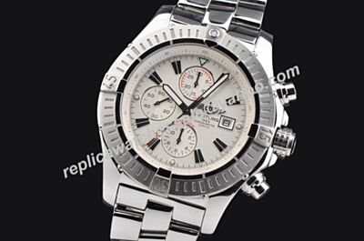 Breitling Swiss A331G79PS Super Avenger II Chronograph Swiss 49MM Tachymeter Bezel Watch