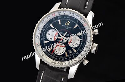 Breitling Montbrillant 01 Chronograph Swiss ref A41370 2-Tone Date Males Watch BNL089