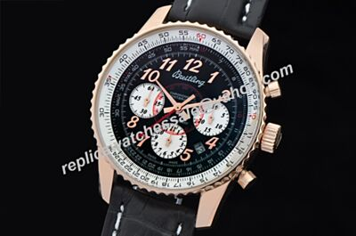 Breitling Chronograph Limited Edition Rose Gold Montbrillant 01 Date Rep Swiss Watch BNL091