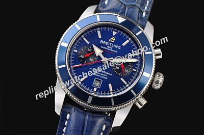 Faux Breitling Special Edition A237C56ORC All Royal Blue Chrono Superocean Heritage Chronograph Watch BNL103