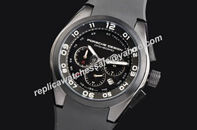 Porsche Design P'6620 Dashboard  Ref 6620.13.46.1238 Chrono Luminous Hand fake Watch