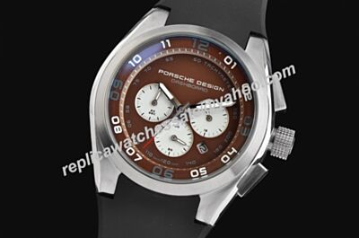 Porsche Design P'6620 Dashboard Chronograph 6620.11.96.1241  Two-Tone Date  Luminous Watch