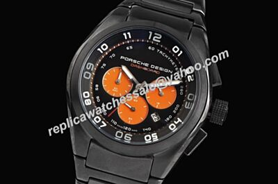 Porsche Design P'6620 Dashboard 42mm Chronograph Date 2-Tone Watch