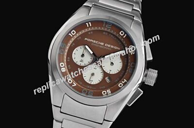 Porsche Design P'6620 Dashboard Chronograph 42mm Date-just  2-Tone  fake Sports Watch
