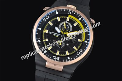 Porsche Design P'6780 Diver  Ref 424.20.37.20.03.001 Date 2-ToNE Hands Watch Fake