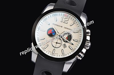 Design Limited Edition Chrono 42mm White Date Knockoffs Watch