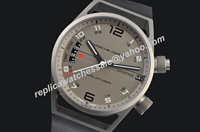 Porsche Design P'6750 Worldtimer Chronometer 6750.10.24.1180 Grey Luminous Copy Watch