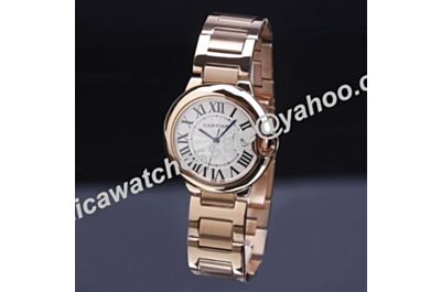 Love Date 36mm Ballon Bleu de Cartier Unisex Rose Gold Steel Watch