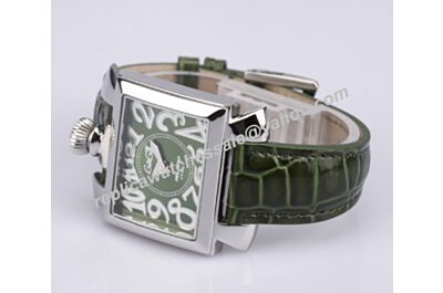 Gaga Milano Napoleone Green Style Quartz NO Diamond 40mm Faux Watch