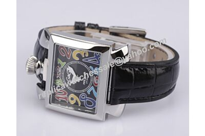 Gaga Milano Napoleone Lady Acciaio  Ref. 6030.5  Silver Case Colorful Scale  Watch