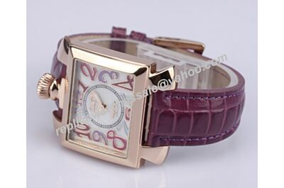 Gaga Milano Napoleone Lady Acciaio  Ref. 6030.7 Rose Gold No Daimond Watch Copy