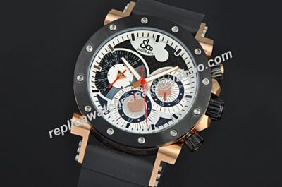 Swiss Made Jacob & CO Epic II Ref E2RGCP  Chronograph Date 24 Hours Watch GT001