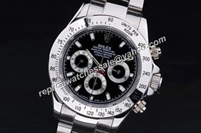 Rolex Ref 116520-78590 Winner Daytona 1992  Black Dial Automatic Watch Replica