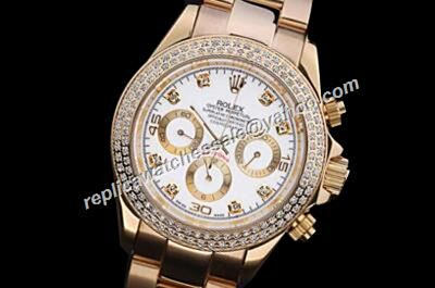 Luxury Rolex Ref 116508 Winner Daytona 1992 Douple Diamons Bezel 24 Auto Watch Replica