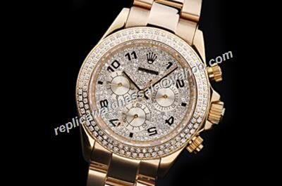 Luxury Rolex 1992 Panda Paved Diamonds Daytona Winner 24 Special Watch