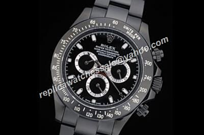 Rolex 1992 Daytona Black Pr-Hunter Winner 24 Automatic Watch