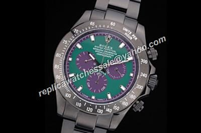 Professional Rolex  116508 Green Dial Auto Daytona 1992 Special Winner Oyster Watch