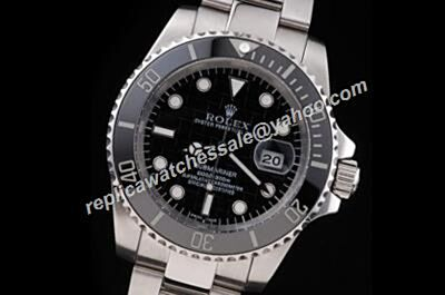 Rolex Submariner 114060-97200 Black Bezel Ceramic Cerachrom White Gold Watch