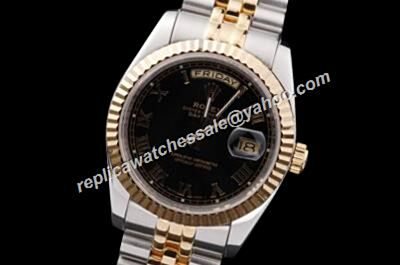 Rolex Ref 218238 Black Swiss Movement Automatic Prezzo Del Day-Date Watch