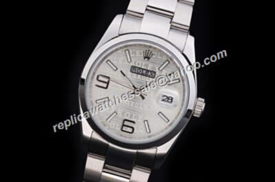 Vintage Rolex Ref 176200 Anniversary Pattern Oyster Perpetual Ss Watch