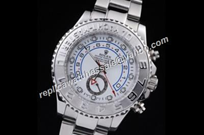 Rolex 116689-78219 Yacht Master II New Style 18k White Gold Rep Watch