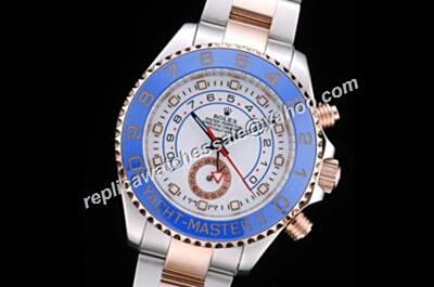 Rolex Yacht-Master II 18k Rose Gold Crown Automatic Mens Watch