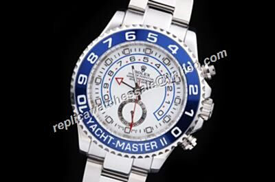 Rolex Yacht-Master II 116680-78210 Steel & 18K White Gold Auto Movement Watch