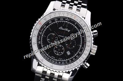 Breitling 1884 Navitimer 01 Chronograph White Gold SS Rep Swiss 24 Hours Watch