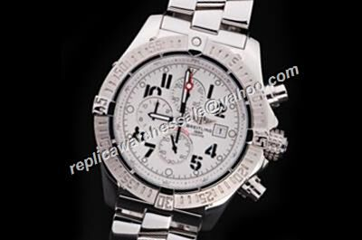 Men's Breitling Avenger II Chronograph Ref A337A99PRS Hurricane Bandit Big Arabic Scale Watch