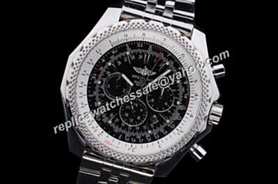 Breitling A252B86SP Bentley Motors T Speed Gnets Chronograph Day Date 24 Hour Watch