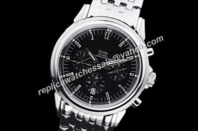 Omega De Ville Day date  Automatic White Gold 24 Hour Date Watch