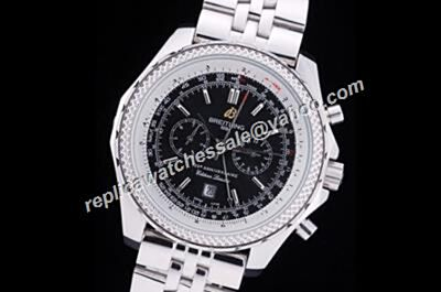 Breitling Bentley a25362 125th anniversary Motors T Speed Silver S/Steel Males Watch Replica