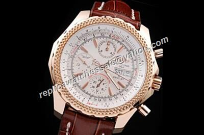 Breitling Bentley GT A13362 Special Edition Rose Gold Prpetual Calendar Mens Chrono Watch