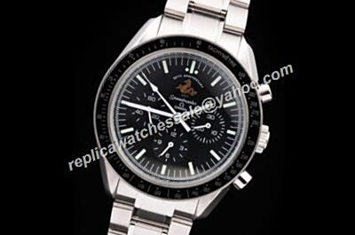 Omega Speedmaster Racing 50th anniversary edition Mens White Gold SS Watch