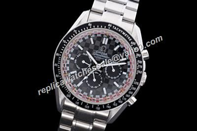 Cheap Omega Speedmaster Racing chronograph design Day Date 24 Hours Watch