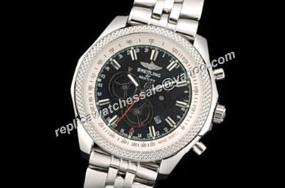 Breitling Bentley Barnato A2536621 G732SS Chronograph 47mm Date Red Hand Faux Watch